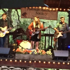 Laney Jones and the Spirits up from Florida. Tunes, Tamales, a Thunderstorm and a Toasty bonfire made for a fun Friday evening in April.
