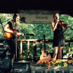 Lydia Luce and Zack Torres performing on July 16, 2016