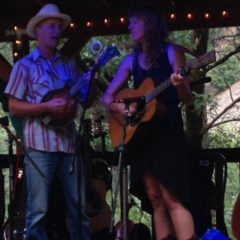 Caleb Klauder and Reeb Willms at the Mandolin Orange Concert in July, 2015