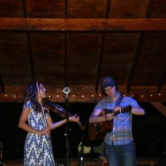 Mandolin Orange Concert in July, 2015