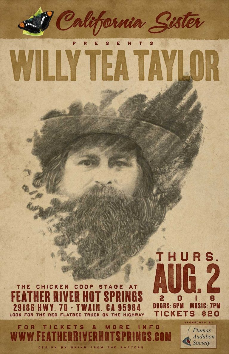 Willy Tea Taylor at Feather River Hot Springs